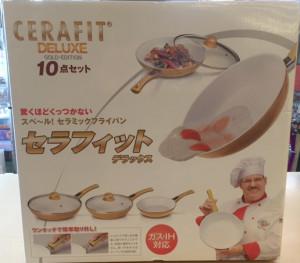 ショップジャパン CERAFIT DELUXE 10点セット