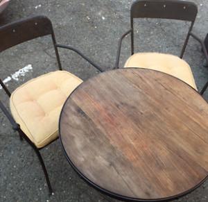 関家具 ノットアンティークス バッカス 丸形テーブル 650