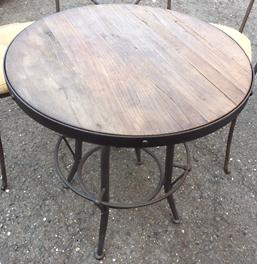 ノットアンティークス バッカス 丸形テーブル 650